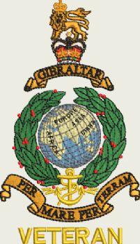 Royal Marines Embroidered Polo shirt